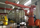 Electrical Stiff Boom Crane , Hydraulic Small Marine Cranes High Efficiency