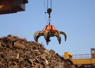 Scrap Steel Orange Peel Grab Excellent Performance Soft Starting And Stopping