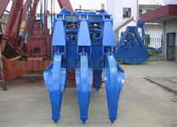 Hydraulic Orange Peel Grab , Strong Body Mechanical Grab Bucket For Coal Clinker